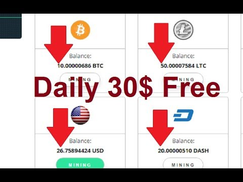 New Free Bitcoin Cloud Mining Site | Earn Daily 30$ Free | My Live Withdrawl