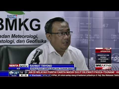 BMKG Pastikan Tak Ada Tsunami Susulan di Selat Sunda