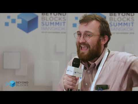 Interview with Charles Hoskinson (IOHK & Cardano) – Summit Bangkok 2018