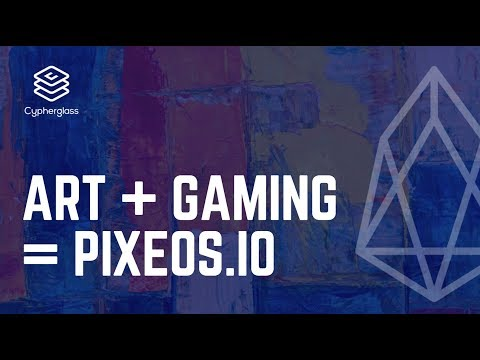 pixEOS: Art + Gaming on EOS!