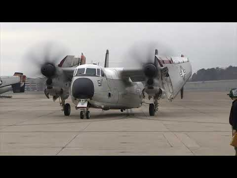 "Grumman C-2 Greyhound VRC-40 ""CODs"" Return Home"