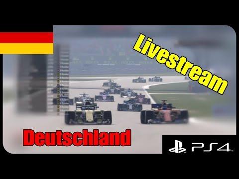 [GER] F1 2018 | VRC Ligarennen [PS4] Rennen 9 Deutschland