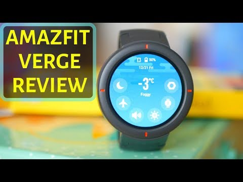Huami Amazfit VERGE in ENGLISH – Xiaomi's new affordable AMOLED SmartWatch!