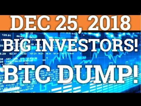 Big Investors Delay Buying Cryptocurrency?! 10%+ Bitcoin BTC Dump!? Tron Trx Price + News 2018