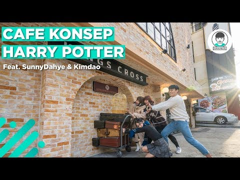 ke Cafe Harry Potter yang ada di Seoul!