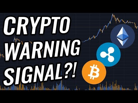 Warning Signal Appearing In Bitcoin & Crypto Markets?! BTC, ETH, XRP, BCH & Cryptocurrency News!