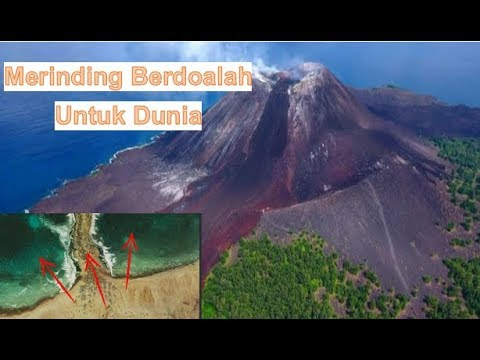 "Baru Saja!! Setelah Krakatau Ada Lagi Keanehan Laut Tiba Tiba Terbelah"" Pertandakah"""