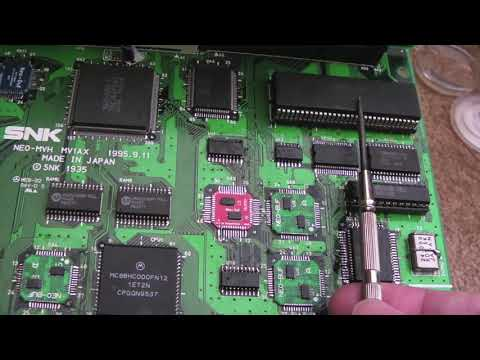 SNK Neo Geo – 10 x Neo Geo MVS Boards Repairs Part 4 – Sound Fault / 161 in 1 & Neo SD Not Working