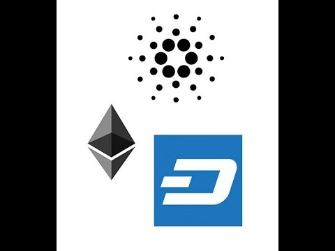 Ethereum, Cardano, and Dash price predictions and projections for 2019