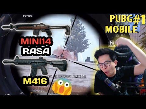 MINI 14 RASA M416 KAYA ADA PEDES-PEDES NYA GITU !!! HIYA HIYA HIYA – PUBG MOBILE INDONESIA