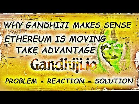 Gandhiji.io DAPP Cryptocurrency Market Update: 1 Top Ethereum Dapps #crypto #ethereum #dapps