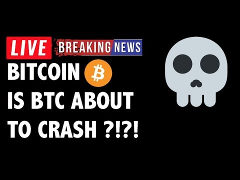 💀 Is Bitcoin (BTC) ABOUT TO CRASH?! – Crypto Market Trading Analysis & Cryptocurrency News