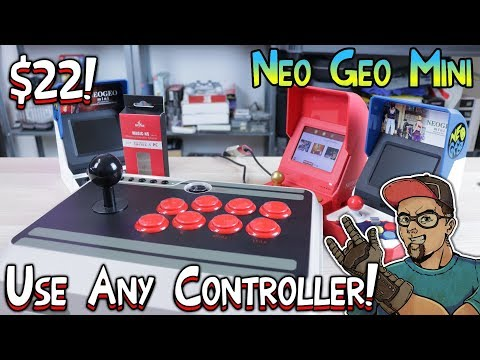 Neo Geo Mini Use Any Controller With The MayFlash Magic-NS Adapter!