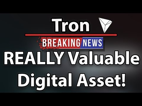 Why Tron (TRX) Is a REALLY Valueable Asset!