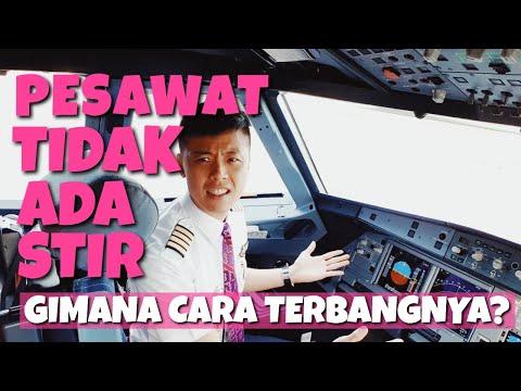 PESAWAT TIDAK ADA SETIR!!! Gimana Cara Terbangnya – TANYA PILOT