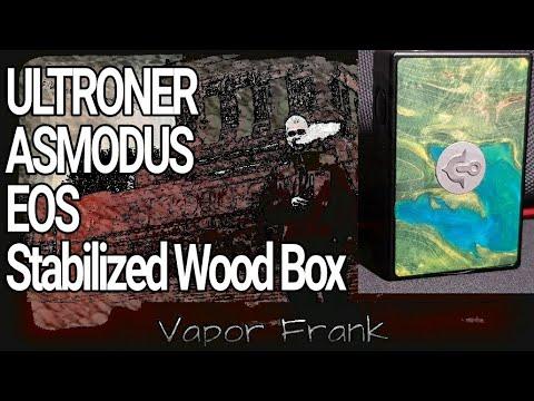 EOS Stabilized Stable Wood Box von ULTRONER / Asmodus, 180 Watt, edel, aber schaun wir mal 😁
