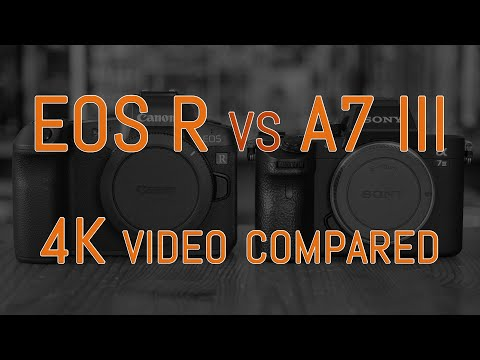 Canon EOS R vs Sony A7 III – 4K Video Comparison