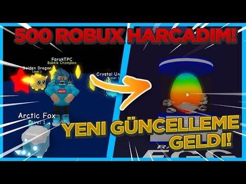 500 ROBUX YENİ ADA VE PETLER İÇİN HARCANIR !! / Roblox Türkçe / FarukTPC