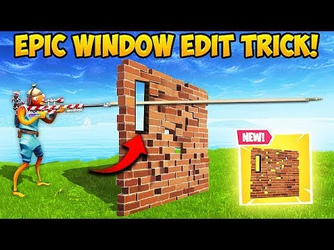 *NEW* OP SMALL WINDOW TRICK! – Fortnite Funny Fails and WTF Moments! #426