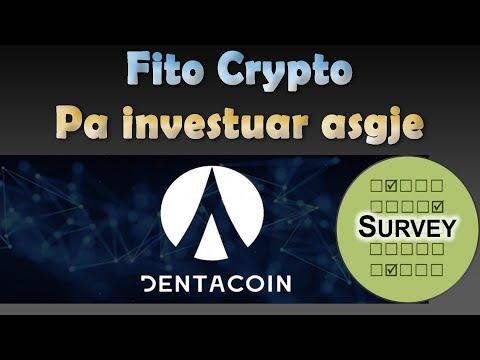 Si te Fitojme Crypto falas me DENTACOIN Survey ???