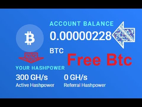 New Free Bitcoin Cloud Mining Site 2019 | 300GH /S Free Bouns