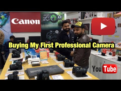 Buying My First Professional Camera | Canon EOS M50 | My Country My Ride