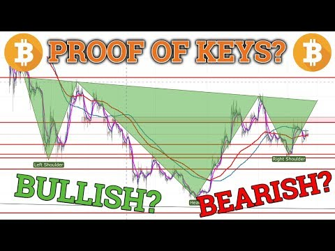 Bitcoin BTC BULLISH vs BEARISH Scenario! Proof Of Keys! Cryptocurrency Price + Trading + News 2018