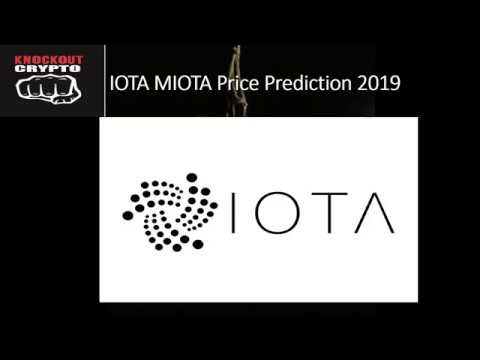 IOTA Price Prediction 2019