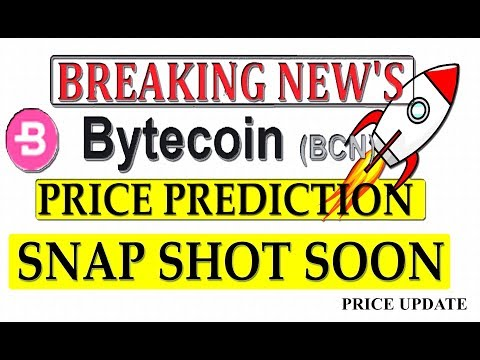 BYTECOIN BCN PRICE PREDICTION  | BYTECOIN NEWS TODAY | MOON SHOT COMING  #BCN  #GAMESZCRYPTO