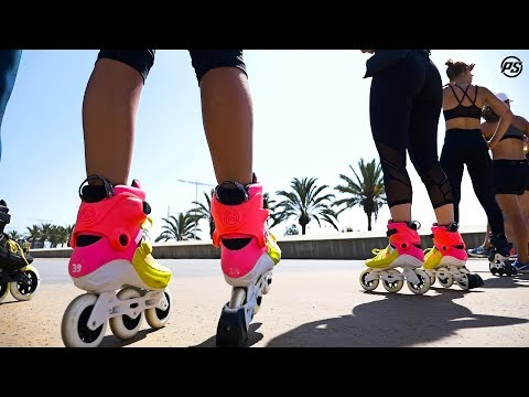 Powerslide Rollerobics Special  – BCN Sports day 2018