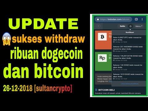 Legit~ribuan dogecoin dan bitcoin sukses withdraw