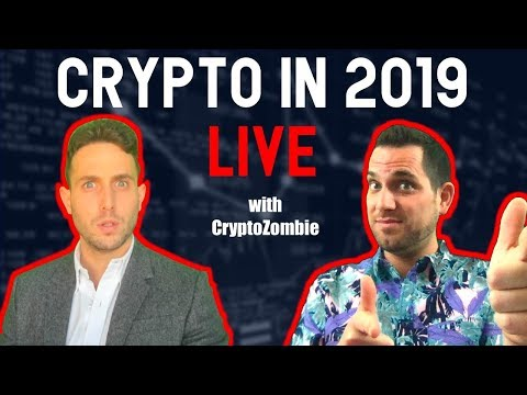 Blockchain & Cryptocurrency in 2019? Live Bitcoin and Crypto Chats with CryptoZombie