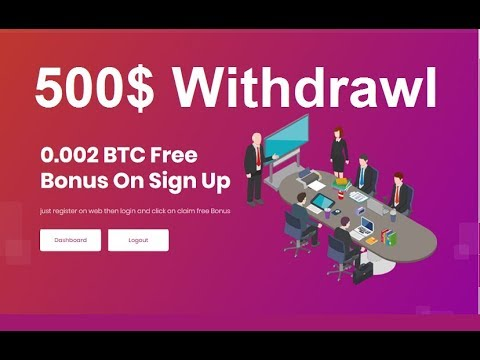 New Free Bitcoin CLOUD Mining Site 2019   500$ DAILY Live WITHDRAWl