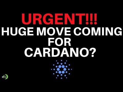 CARDANO (ADA) | URGENT!!! HUGE MOVE COMING?