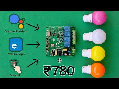 Home automation product for just ₹780 from Banggood | EWelink | Google Assistant | IoT Projects