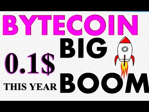 BYTECOIN BCN PRICE PREDICTION  | BYTECOIN bcn  NEWS TODAY 2019  #GAMESZCRYPTO