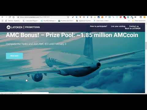 Join 5 Airdrops in LATOKEN Exchange 15000 DCN 15000 BIO 50 PDRY  1000 VES Tokens