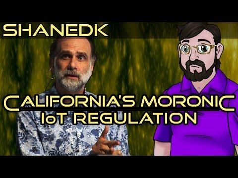 California's Moronic IoT Regulation