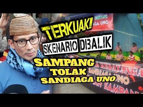 """TERENDUS!! ~ ADA SESUATU DIBALIK """"SAMPANG T0LAK SANDIAGA UNO"""""""