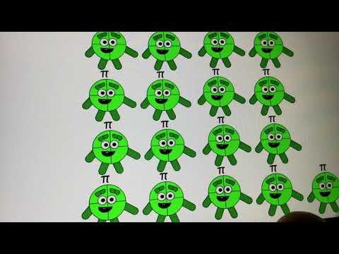 Omega, Iota and Lambda (A Numberblocks Animation)