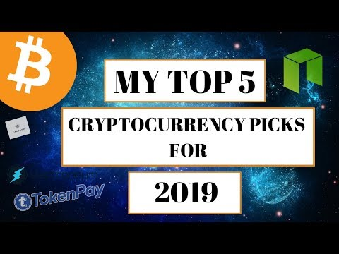 My Top 5 Cryptocurrency Picks for 2019