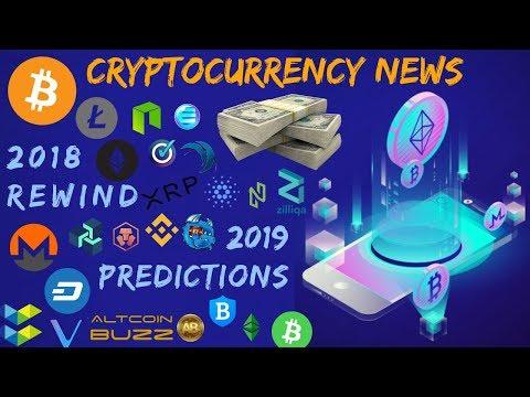 2018 Blockchain Recap + TOP 3 2019 Crypto Goals – Cryptocurrency News