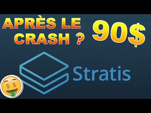 STRATIS 90$ APRÈS LE CRASH !? STRAT analyse technique crypto monnaie bitcoin