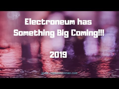 Something Big Coming Electroneum – IOS Beta User Will Have Updates.