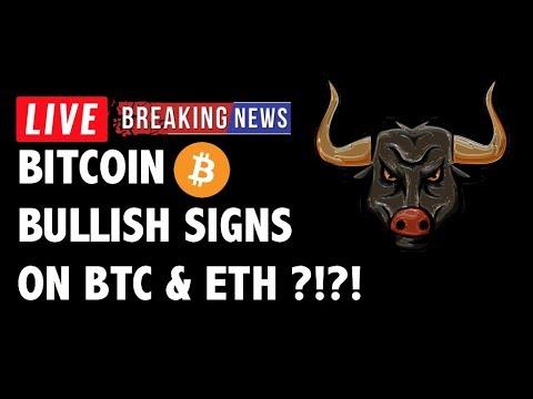 🚀BULLISH Signs on Bitcoin (BTC) & Ethereum?! – Crypto Market Trading Analysis & Cryptocurrency News