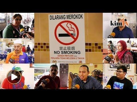 Tinjauan: Masih ada ingkar arahan larangan merokok