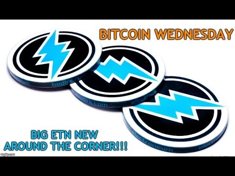 Bitcoin Wednesday: Starting 2019 in Crypto & Electroneum Big New Coming Soon!