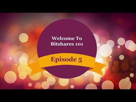 Bitshares 101 Episode 5-Creating User Issued Assets