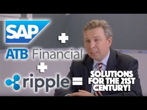 Ripple XRP: SAP & ATB Financial Sit Down With Ripple And Realize They Have Better Technology