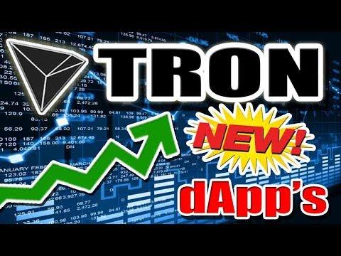 Tron (TRX) Adding 20+ dApps WEEKLY! Bittorrent (BTT) Token LAUNCHED!